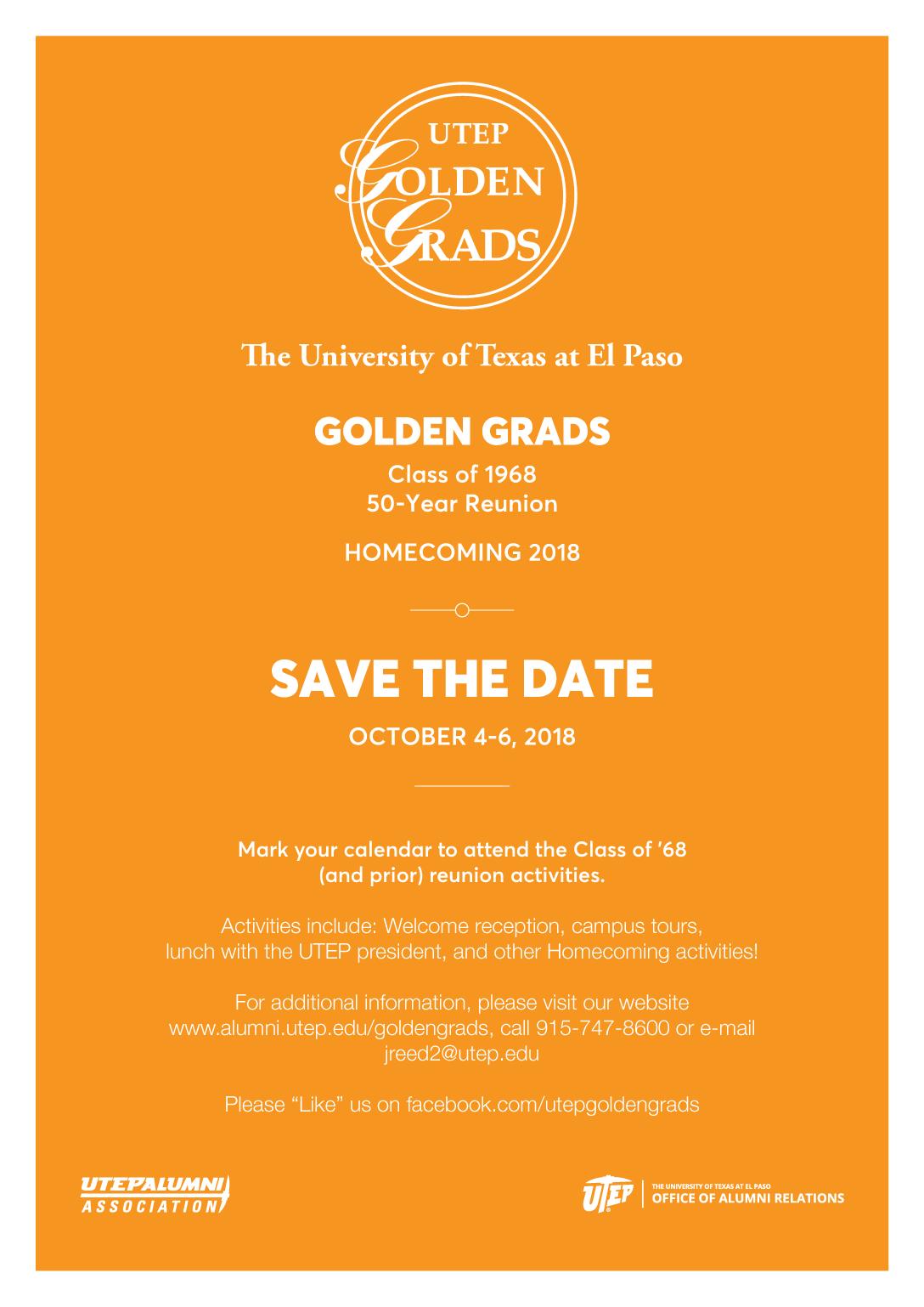 UTEP Golden Grads - The University of Texas at El Paso